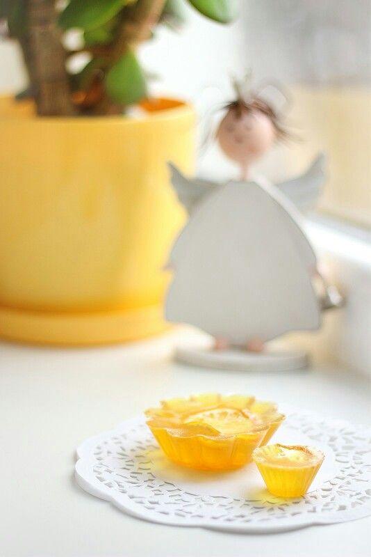 """Мыло """"Лимонный кекс"""". Большой и малый. С добавлением цедры лимона."""