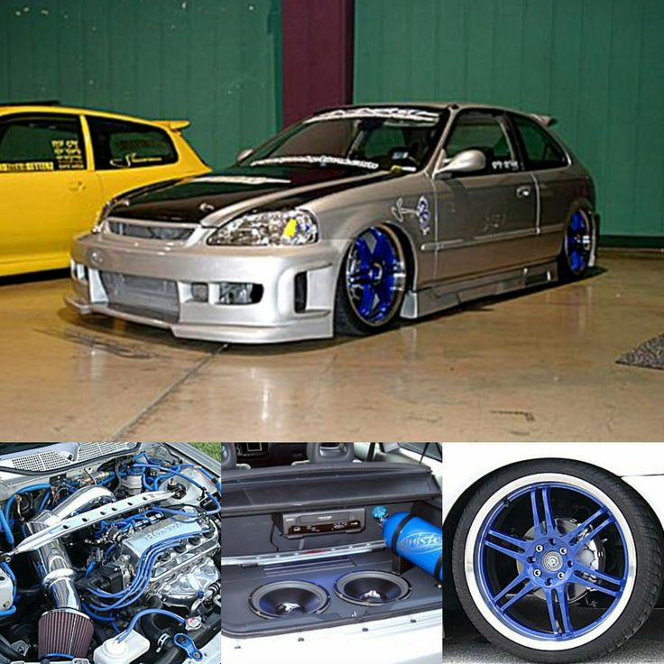 Check Out SinisterOOu0027s Mods, Gallery And More On Their 1999 Honda Civic 2dr  Hatchback Showcase