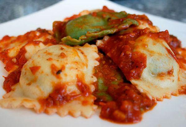 Italian Spinach Ricotta Ravioli Recipe