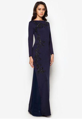 Zalia Embroidered Column Dress ZALORA 2015