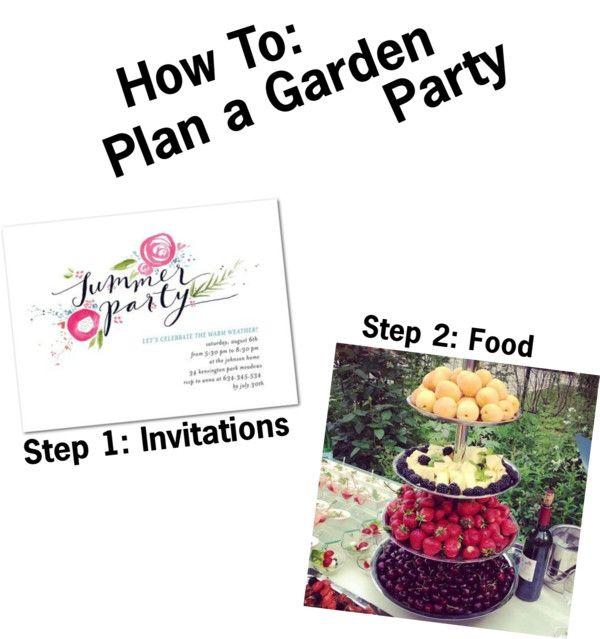 How To Plan a Garden Party
