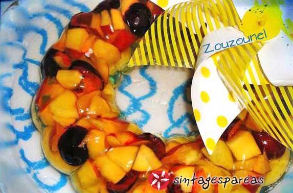 Fresh fruit jelly #cooklikegreeks #fruit #jelly #dessert