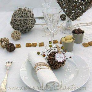 1000 id es sur le th me th mes de mariage nature sur pinterest cadeaux invi - Deco de table naturel ...