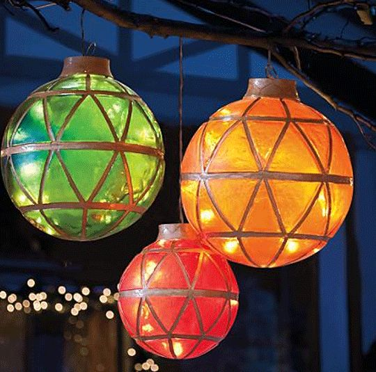 Illuminated #LED #Ornaments