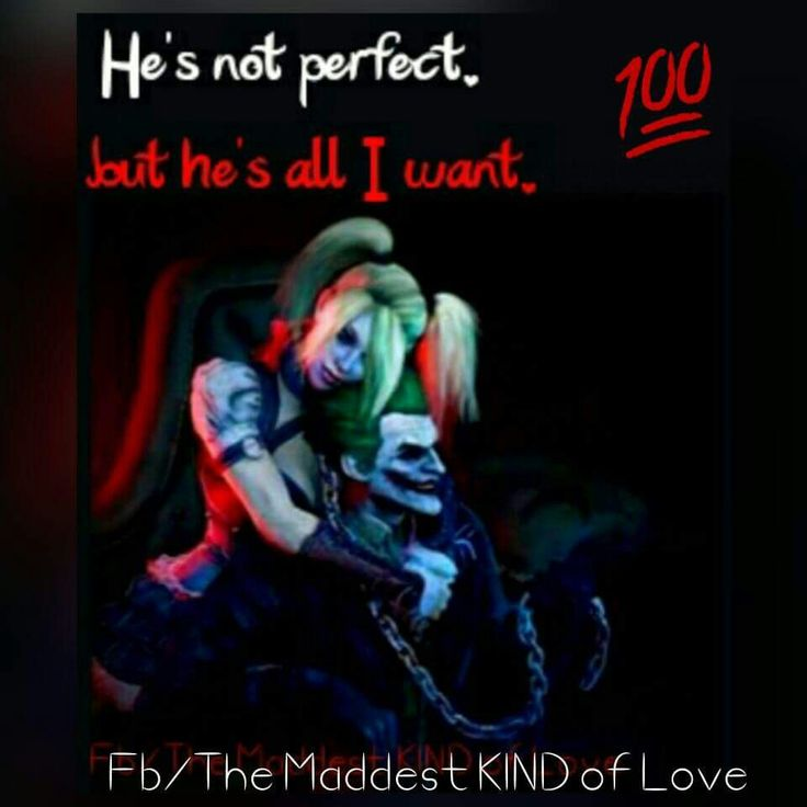 Joker And Harley Quinn Love Quotes Pictures to Pin on Pinterest ...