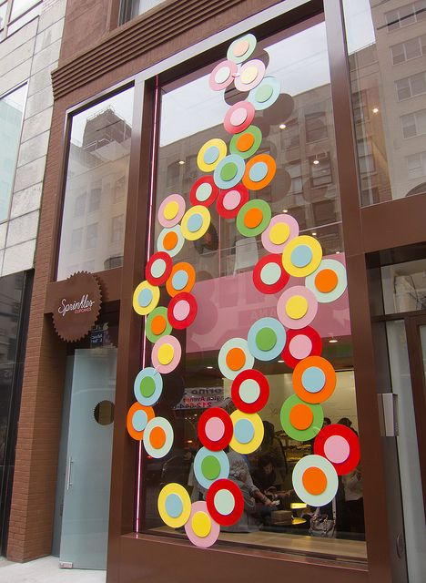 Sprinkles Cupcakes | New York.  what to do if you are stuck with a boring storefront facade