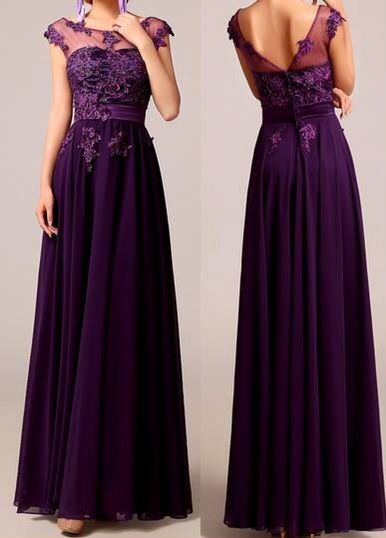 love this pretty purple dress