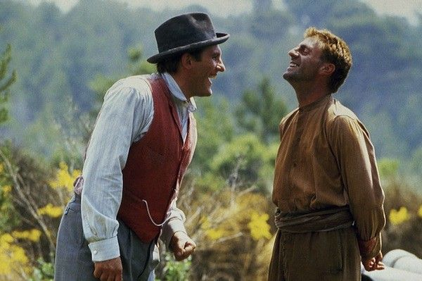 Gerard Depardieu and Daniel Auteuil in Jean de Florette (Photo: Shout! Factory)