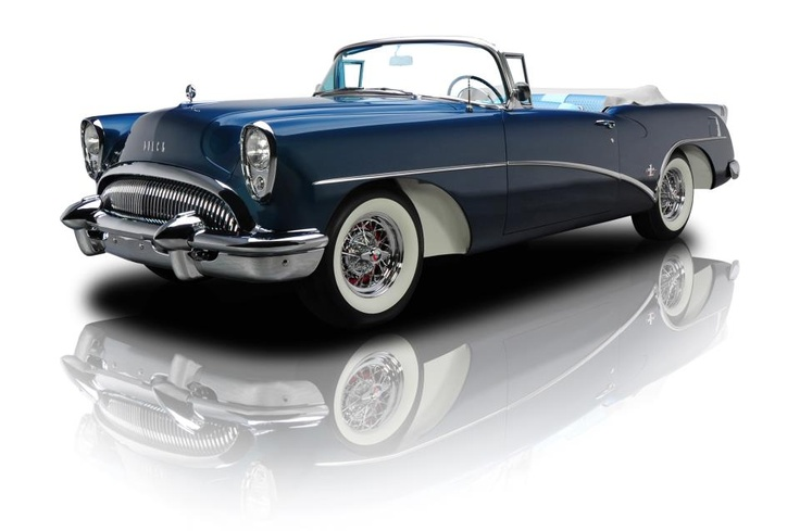 1954 buick series 100 skylark convertible hot rod muscle. Black Bedroom Furniture Sets. Home Design Ideas