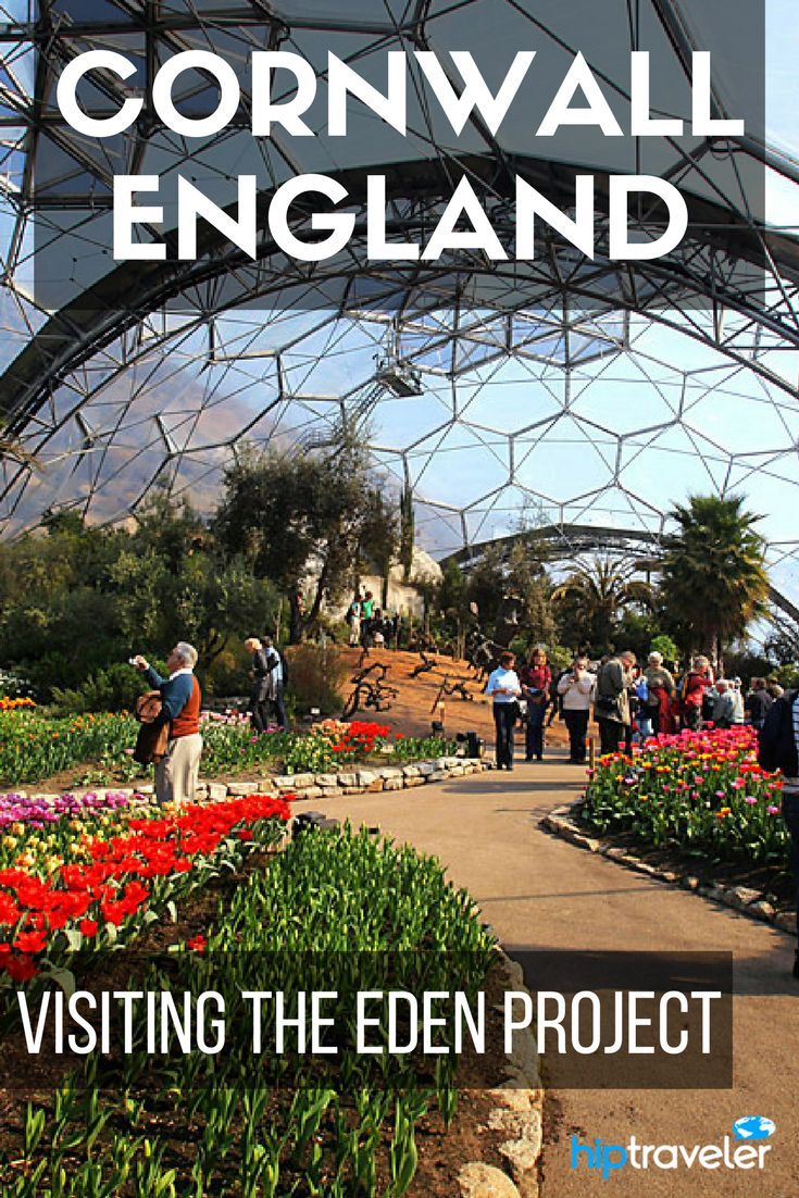 A step by step itinerary to having the perfect day exploring Cornwall, England, with stops at the Eden Project and Charlestown. A guide to the best things to do with 24 hours in Cornwall. | Blog by HipTraveler: Bookable Travel Stories
