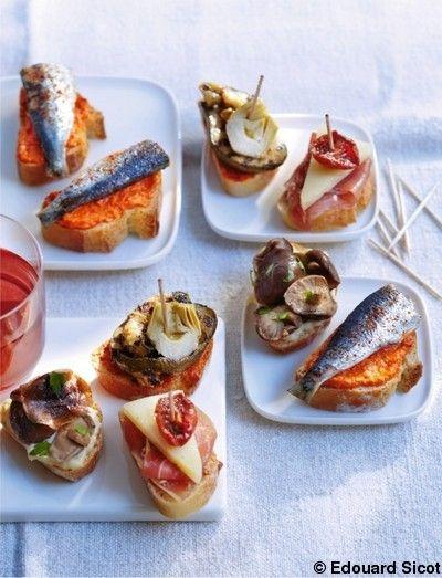 Crème de poivron, sardines et piment d'espelette : elle.fr
