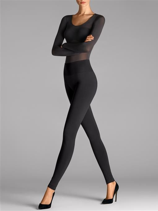 Wolford Perfect Fit leggings featuring NATEO yarns...latest acquisition