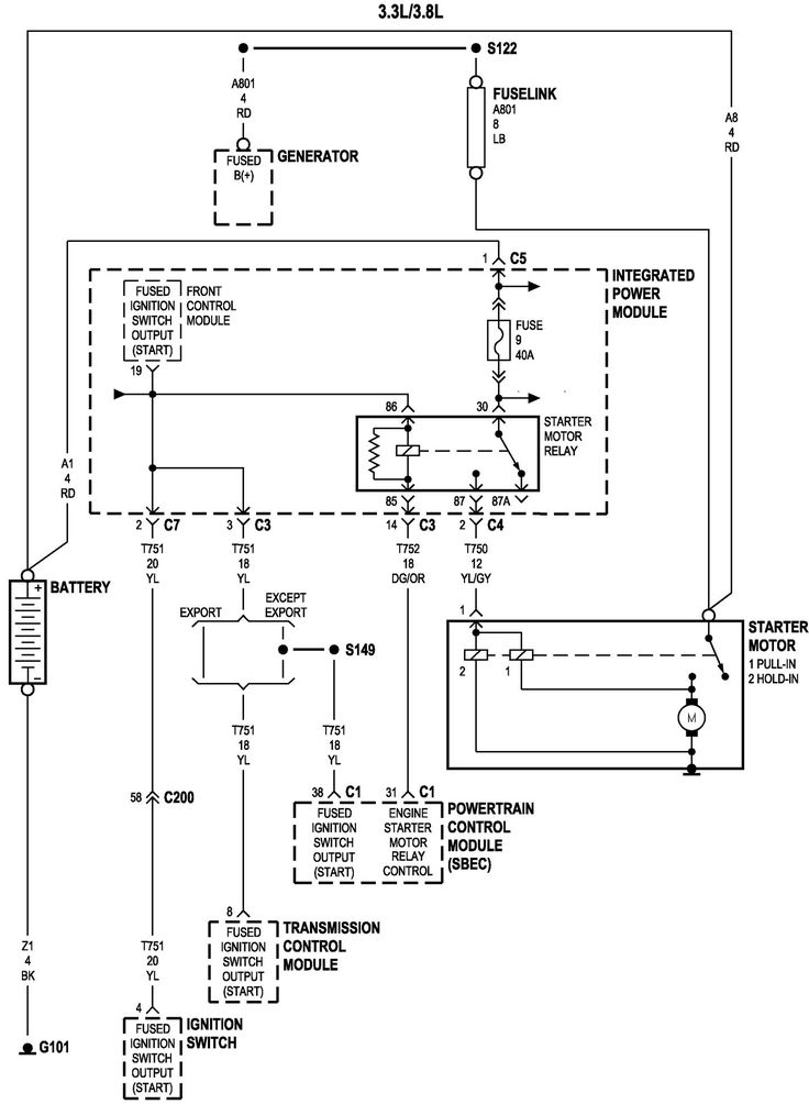 2006 Dodge Grand Caravan Engine Diagram