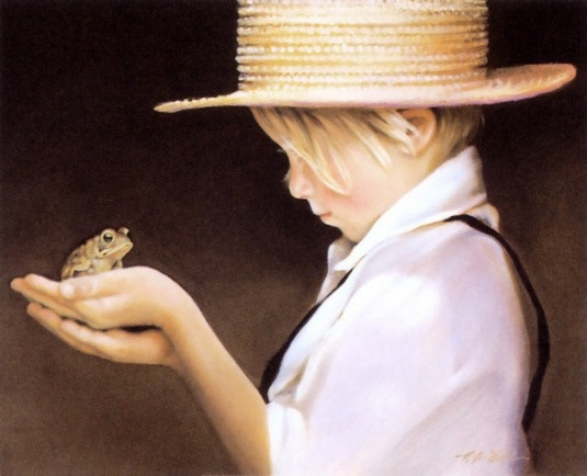 Ian And The Frog, Nancy Noel (American)
