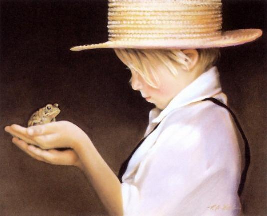 Ian And The Frog, Nancy Noel (American)