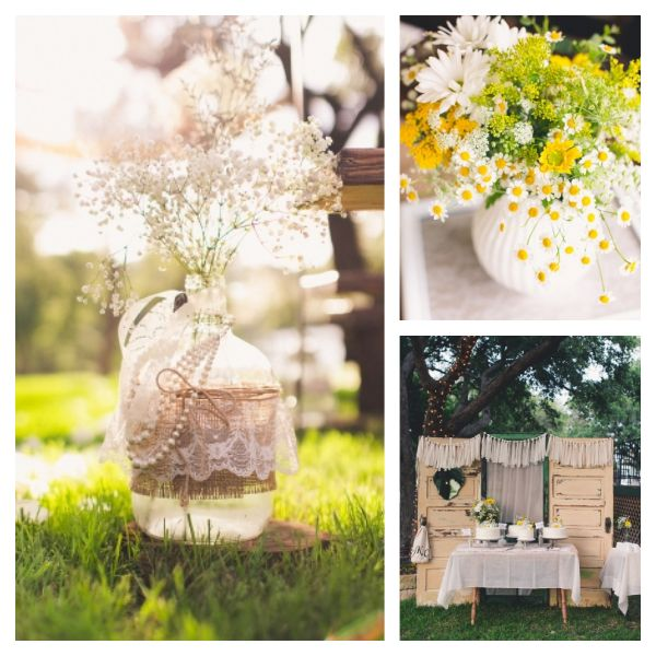 Outdoor Wedding Ideas   Backyard Wedding Texas Style   Bella Paris Designs  Bella Paris Designs