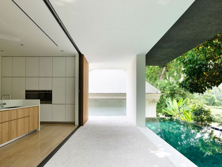 ONGu0026ONG Pte Ltd Designs A Contemporary Private Residence In Singapore