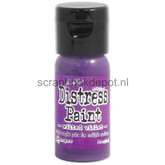 Tim Holtz Distress Flip Top Paints Wilted Violet