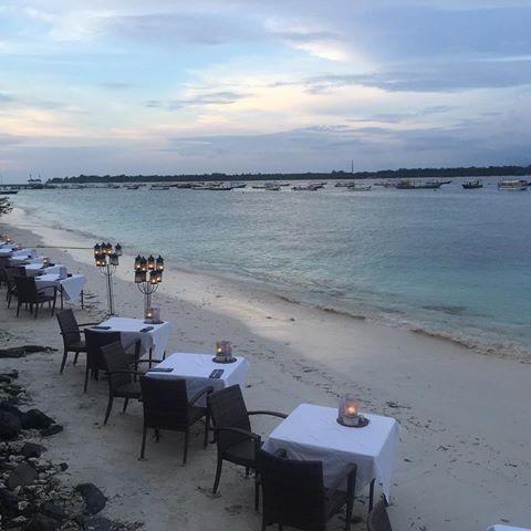 From green beauty in Ubud to blue dreamland in Gili Trawangan Island...a fast-boat ride away!🏝🚤