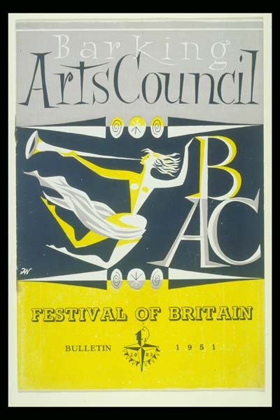 Festival of Britain 1951 - Barking Arts Council programme