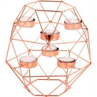 Large 6 piece candle holder - Something Different Wholesale