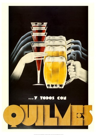 Quilmes - Old Poster