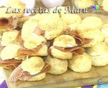 Las recetas de Maru Botana: Scones de queso