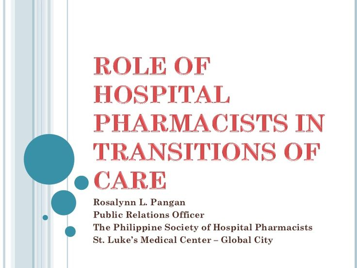 importance of medication reconciliation in the healthcare setting Hospital-based care settings if medication reconciliation as part of a  are the  evidence-based guidelines regarding the role of healthcare.