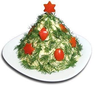 Рецепт салата с плавленых сырков