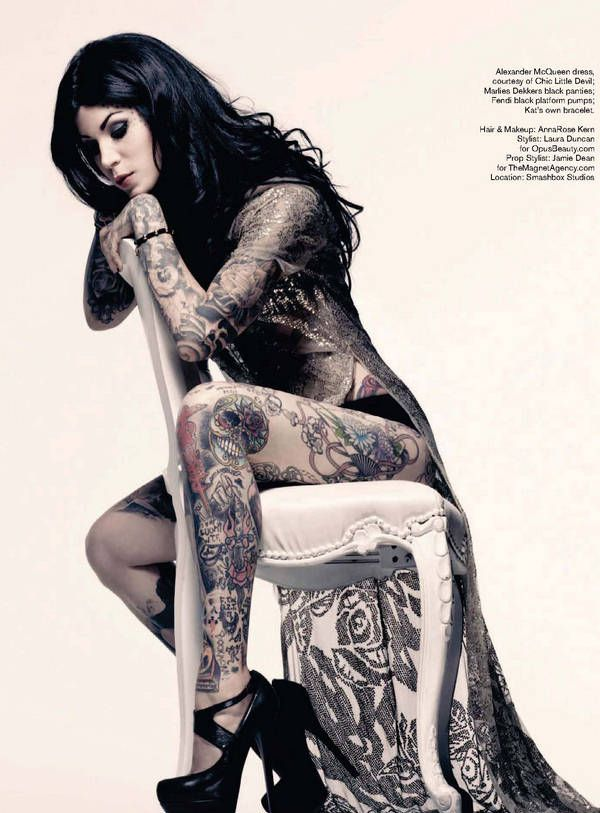 Kat Von D rebel beautiful black hair gorgeous legs heels #kat tattoos