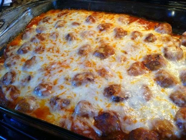 Meatball Sub Casserole Recipe ~ Easy Recipes