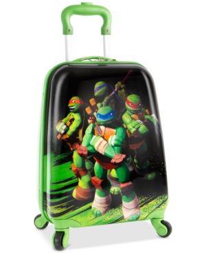 """Nickelodeon Ninja Turtles 18"""" Spinner Suitcase - Print"""