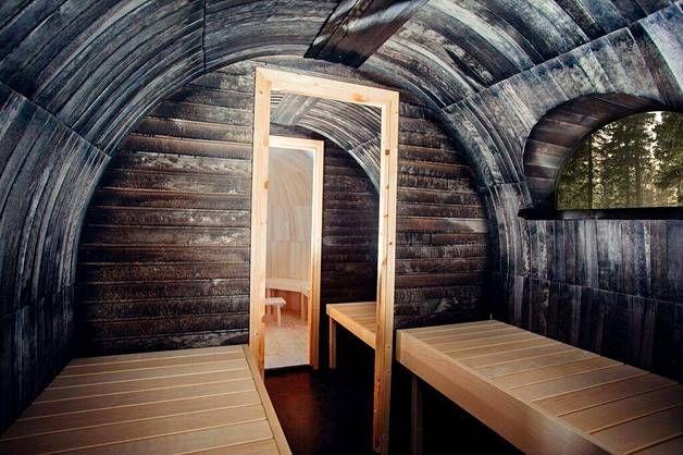 Onko tässä Suomen kummallisin sauna? - Asuminen - Ilta-Sanomat
