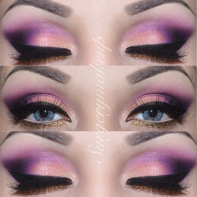Details of my Rapunzel look   Dettaglio del mio trucco di Rapunzel  I used/ho usato: Route66, Jet Lag e Casa Delight from the palette by @Giuliana Cesare Arcarese for Neve; Purple from the Blushprofessional 120 matte palette; Black Sheep (black) and Liquid Mirror (gold) by Neve; Gold glitter with no name; Elf eyeliner; Josie eyelashes by @lepetitlapinlashes ; Lenses are Sky by @pinkyparadisedotcom ; Brows are @anastasiabeverlyhills Brow powder duo in Medium Brown.  - @surgerymakeup…