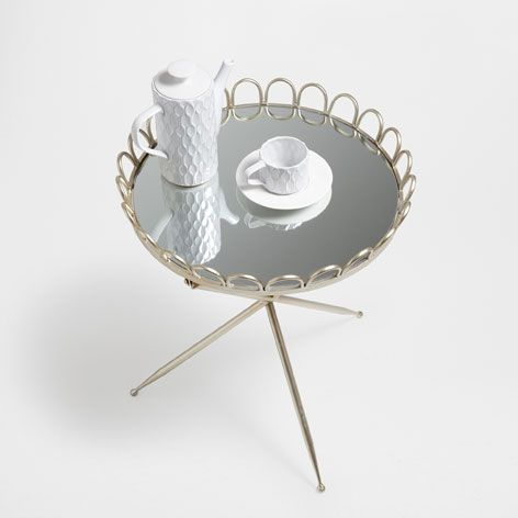 LITTLE ROUND FOLDABLE TABLE - Occasional Furniture - Bedroom | Zara Home United Kingdom