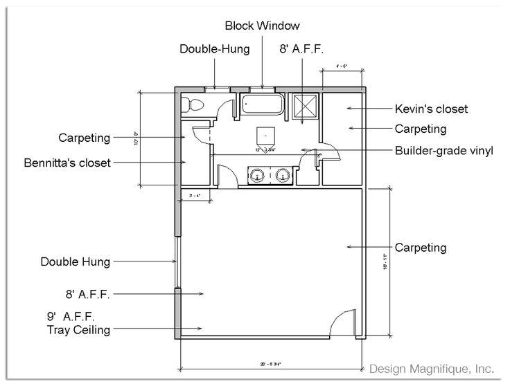 master bedroom decoration plan   Master Bedroom Floor Plans With Bathroom   Design ...