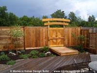 Creative DIY Fence Outdoor Project Idea. Louvered Hardware Idea: Decks, Fences, Pergolas, Hot Tub Privacy