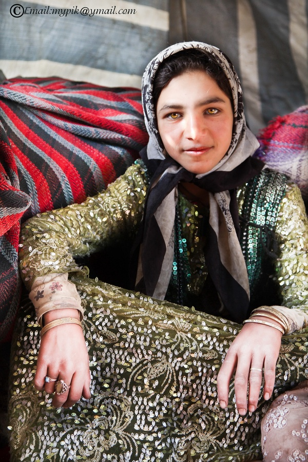 Nomad Girl, Iran