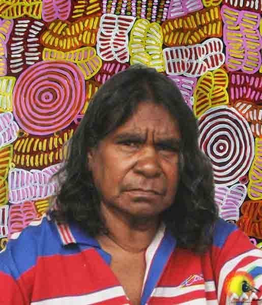 Australian Aboriginal Artist Betty Mbitjana #aboriginalart #aboriginalpainting #australianart