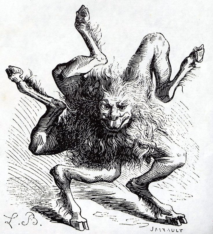 Buer, a demon from thePseudomonarchia Daemonum. He is a great President of Hell that teaches natural and moral philosophy, logic, and the virtues of all herbs and plants.