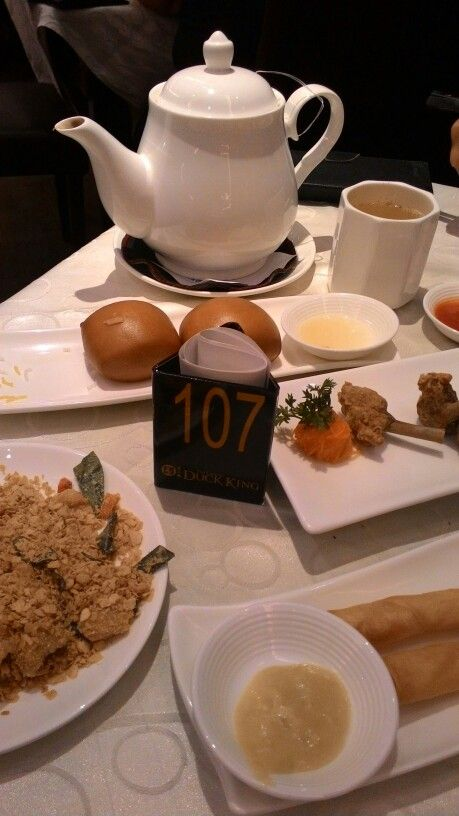 Dimsum set 'all you can eat' at Grand duck King, Setiabudi 1
