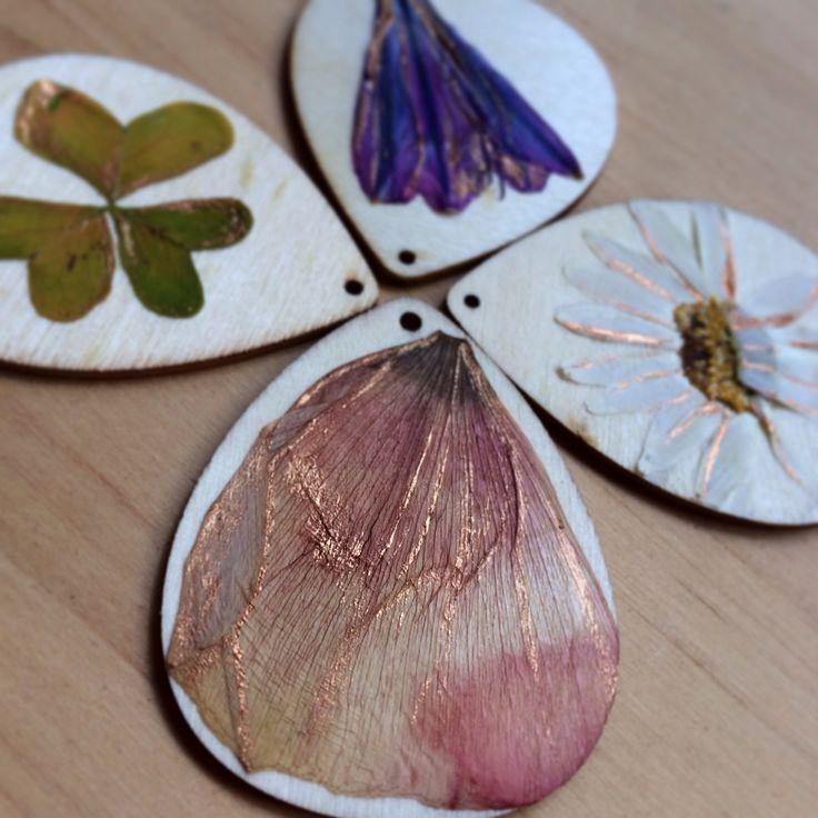 Petal pendants #neekienoonecklaces