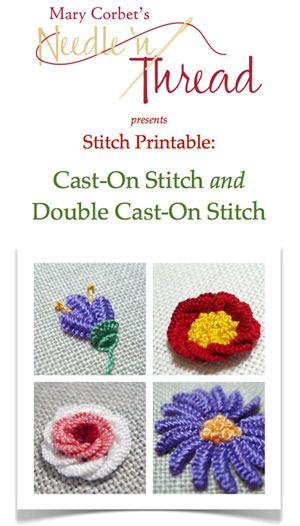 Image of Cast-On & Double Cast-On Stitch Printable$  I so want this... Plus time to learn these stitches.  A.ma.zing.