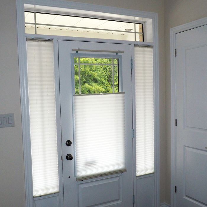 10 best door glass and sidelight window coverings images for Side door window coverings