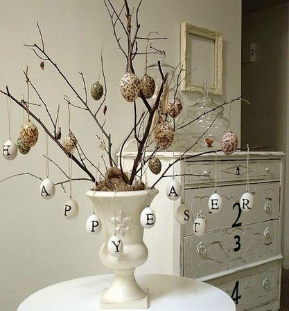 arbre de Paques