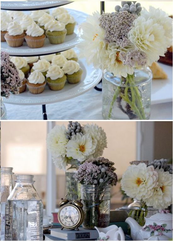 elegant country bridal shower | Bridal Shower Themes – Antique French Library - Project Wedding Blog