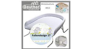 Geuther Wickeltischaufsatz, Geuther Bade-Wickel-Kombination › Wickelflächen Wandwickeltisch - Testsieger