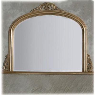 Gold Entrata Overmantle Mirror 120 x 90cm