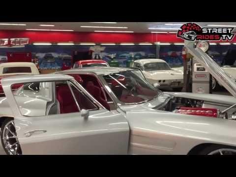 Custom 1963 Corvette Stingray Split Personality LS MOTOR - YouTube