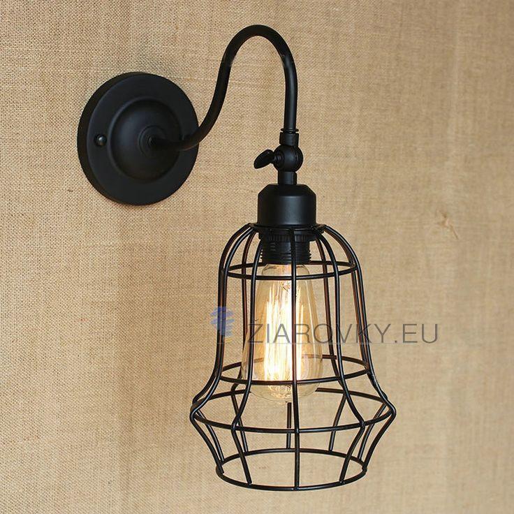 Svietidlo ponúkame v čiernej farbea je vhodné ako dekorácia do každej domácnosti